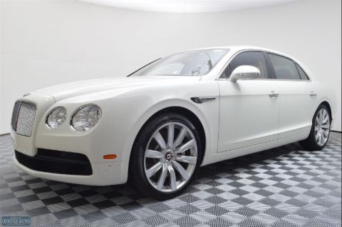 New 2016 Bentley Flying Spur AWD V8 Sedan With Navigation & AWD