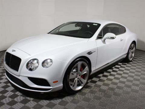 New 2017 Bentley Continental GT V8 With Navigation & AWD