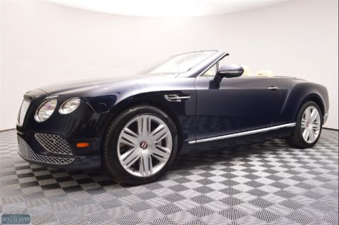 New 2016 Bentley Continental GT V8 Convertible With Navigation & AWD