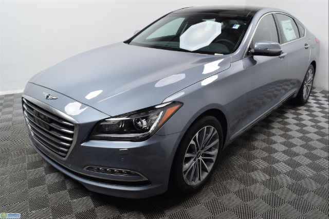 new 2017 genesis g80 3 8 sedan in hopkins hn16455 morrie 39 s automotive group. Black Bedroom Furniture Sets. Home Design Ideas