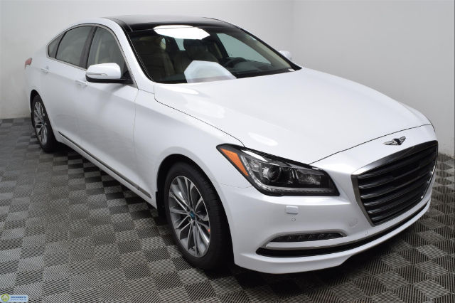 new 2017 genesis g80 3 8 sedan in hopkins hn16528 morrie 39 s automotive group. Black Bedroom Furniture Sets. Home Design Ideas