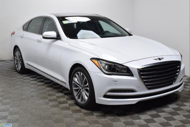 new 2017 genesis g80 v6 sedan in hopkins hn16456 morrie 39 s automotive group. Black Bedroom Furniture Sets. Home Design Ideas