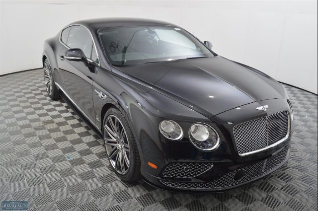 New 2017 Bentley Continental GT Speed Coupe